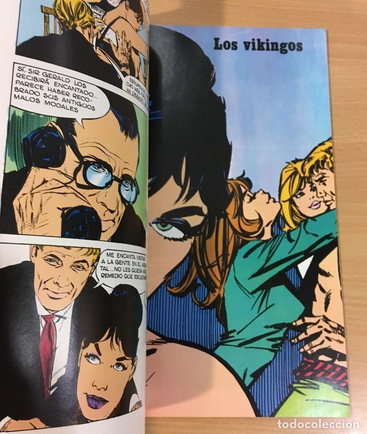 Cómics: CÓMIC COLECCIÓN AGENTES SECRETOS - MODESTY BLAISE EN EL TRAIDOR. BURU LAN, 1974 - Foto 3 - 245736795