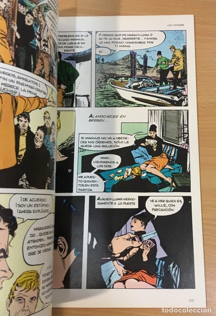 Cómics: CÓMIC COLECCIÓN AGENTES SECRETOS - MODESTY BLAISE EN EL TRAIDOR. BURU LAN, 1974 - Foto 4 - 245736795