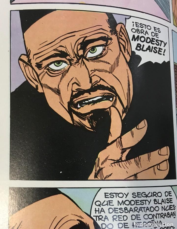 Cómics: CÓMIC COLECCIÓN AGENTES SECRETOS - MODESTY BLAISE EN EL SINDICATO DEL CRIMEN. BURU LAN, 1974 - Foto 4 - 245736950