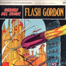 Cómics: Nº 03 FLASH GORDON. HEROES DE COMIC. BURU LAN .1972. Lote 246035005