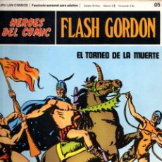 Cómics: Nº 05 FLASH GORDON. HEROES DE COMIC. BURU LAN .1972. Lote 246035100