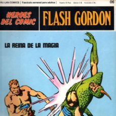 Cómics: Nº 06 FLASH GORDON. HEROES DE COMIC. BURU LAN .1972. Lote 246035165