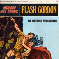 Cómics: Nº 07 FLASH GORDON. HEROES DE COMIC. BURU LAN .1972. Lote 246035195
