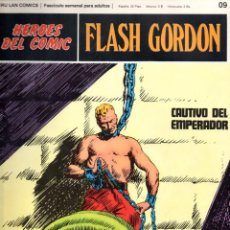 Cómics: Nº 09 FLASH GORDON. HEROES DE COMIC. BURU LAN .1972. Lote 246035275