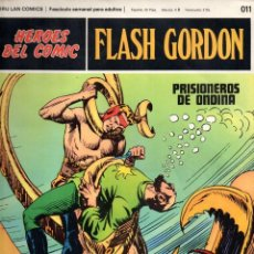 Cómics: Nº 011 FLASH GORDON. HEROES DE COMIC. BURU LAN .1972. Lote 246035325
