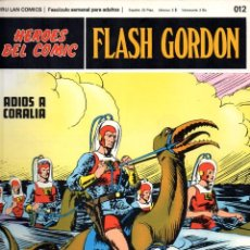 Cómics: Nº 012 FLASH GORDON. HEROES DE COMIC. BURU LAN .1972. Lote 246035355