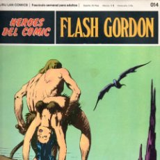 Cómics: Nº 014 FLASH GORDON. HEROES DE COMIC. BURU LAN .1972. Lote 246035450