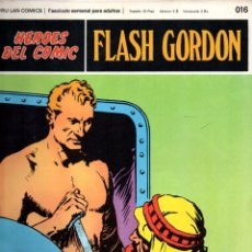 Cómics: Nº 016 FLASH GORDON. HEROES DE COMIC. BURU LAN .1972. Lote 246035495
