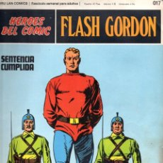Cómics: Nº 017 FLASH GORDON. HEROES DE COMIC. BURU LAN .1972. Lote 246035515