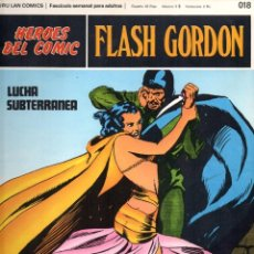 Cómics: Nº 018 FLASH GORDON. HEROES DE COMIC. BURU LAN .1972. Lote 246035585
