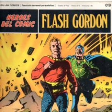 Cómics: Nº 019 FLASH GORDON. HEROES DE COMIC. BURU LAN .1972. Lote 246035615