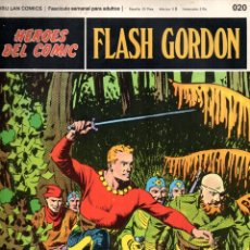 Cómics: Nº 020 FLASH GORDON. HEROES DE COMIC. BURU LAN .1972. Lote 246035675