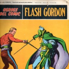 Cómics: Nº 1-21 FLASH GORDON. HEROES DE COMIC. BURU LAN .1972. Lote 246035740