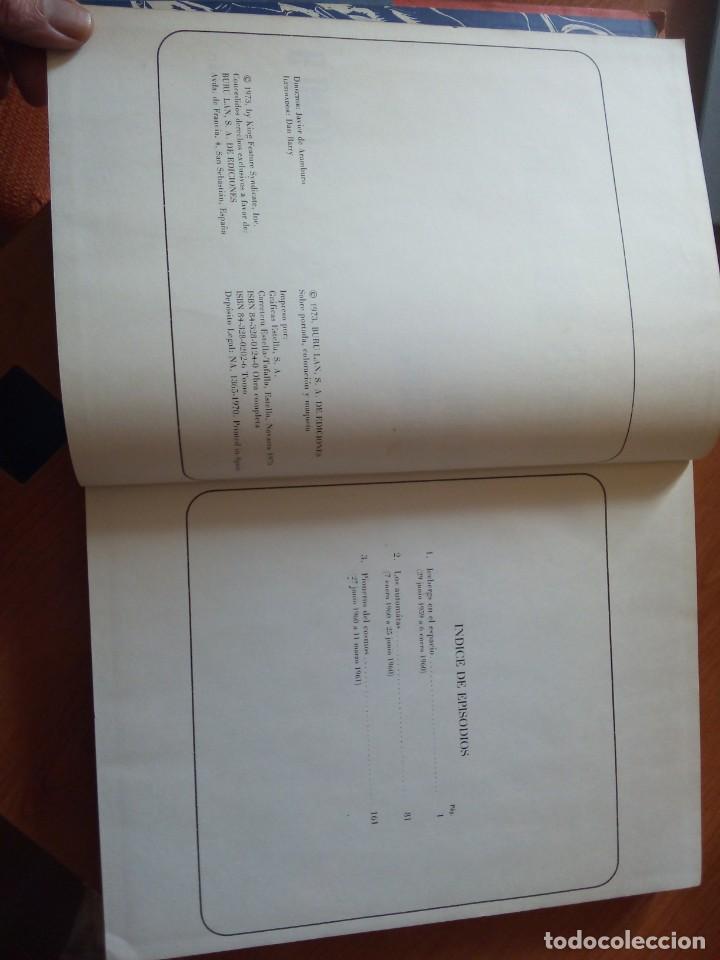 Cómics: FLASH GORDON TOMO 9 AVENTURA SIDERAL. BURU LAN 1973 TOMO DIFICIL - Foto 3 - 246217475