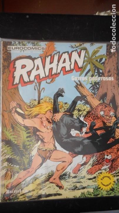 RAHAN Nº 7 /C-1 (Tebeos y Comics - Buru-Lan - Rahan)