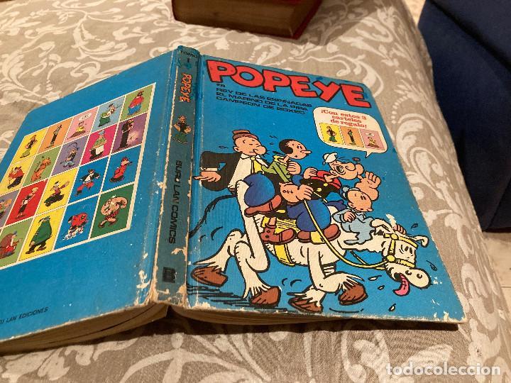 POPEYE TOMO 1 REY DE LAS ESPINACAS - EDICIONES BURU LAN 1972 (Tebeos y Comics - Buru-Lan - Popeye)