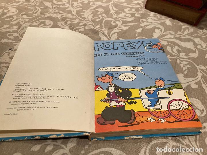 Cómics: POPEYE TOMO 1 REY DE LAS ESPINACAS - EDICIONES BURU LAN 1972 - Foto 2 - 246736670