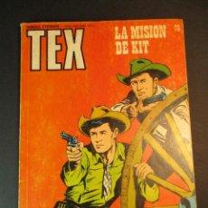 Cómics: TEX (1970, BURU LAN) 73 · 1971 · LA MISIÓN DE KIT. Lote 246803105
