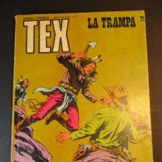 Cómics: TEX (1970, BURU LAN) 74 · 1971 · LA TRAMPA. Lote 246807670