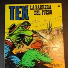 Cómics: TEX (1970, BURU LAN) 64 · 1971 · LA BARRERA DE FUEGO. Lote 247034950