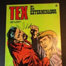 Cómics: TEX (1970, BURU LAN) 66 · 1971 · EL EXTERMINADOR. Lote 247035835