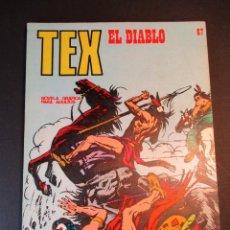 Cómics: TEX (1970, BURU LAN) 67 · 1971 · EL DIABLO. Lote 247036045