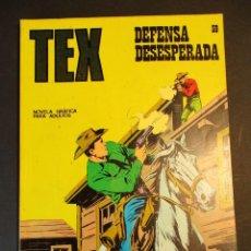 Cómics: TEX (1970, BURU LAN) 59 · 1971 · DEFENSA DESESPERADA. Lote 247173105