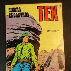 Cómics: TEX (1970, BURU LAN) 57 · 1971 · SIERRA ENCANTADA. Lote 247179480