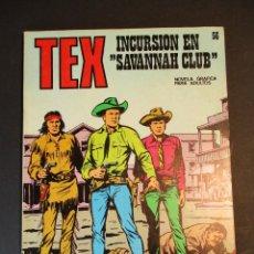 """Cómics: TEX (1970, BURU LAN) 56 · 1971 · INCURSIÓN EN """"SABANNAH CLUB"""". Lote 247189715"""