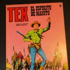 Cómics: TEX (1970, BURU LAN) 48 · 1971 · EL ESPÍRITU DE MANITÚ. Lote 247195650