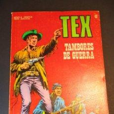Cómics: TEX (1970, BURU LAN) 40 · 1971 · TAMBORES DE GUERRA. Lote 247204775