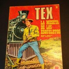 Cómics: TEX (1970, BURU LAN) 30 · 1971 · LA MESETA DE LOS ESQUELETOS. Lote 247254320