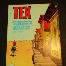 Cómics: TEX (1970, BURU LAN) 29 · 1971 · SANGRIENTO ATARDECER. Lote 247254710