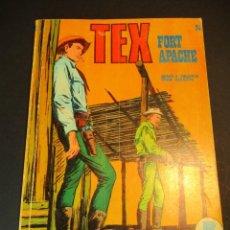 Cómics: TEX (1970, BURU LAN) 26 · 1971 · FORT APACHE. Lote 247255660