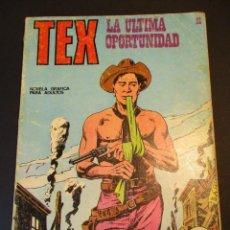 Cómics: TEX (1970, BURU LAN) 21 · 1971 · LA ÚLTIMA OPORTUNIDAD. Lote 247278110