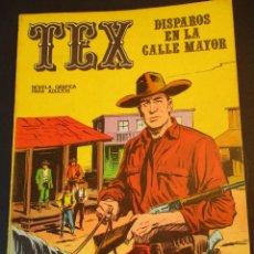 Cómics: TEX (1970, BURU LAN) 15 · 1971 · DISPAROS EN LA CALLE MAYOR. Lote 247280515
