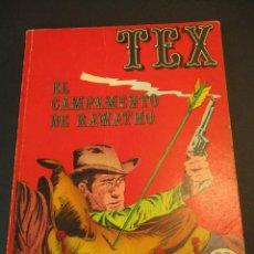 Cómics: TEX (1970, BURU LAN) 8 · 1971 · EL CAMPAMENTO DE RAWATHO. Lote 247288155