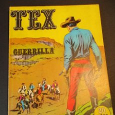 Cómics: TEX (1970, BURU LAN) 6 · 1971 · GUERRILLA. Lote 247289310