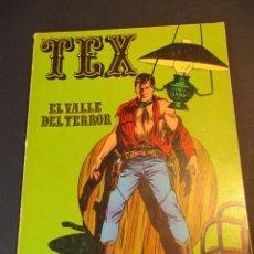 Cómics: TEX (1970, BURU LAN) 1 · 1970 · EL VALLE DEL TERROR. Lote 247292405