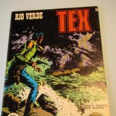 Cómics: TEX (1970, BURU LAN) 51 · 1971 · RÍO VERDE. Lote 247293315