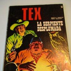 Cómics: TEX (1970, BURU LAN) 43 · 1971 · LA SERPIENTE DESPLUMADA. Lote 247293945