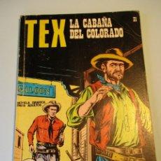 Cómics: TEX (1970, BURU LAN) 31 · 1971 · LA CABAÑA DEL COLORADO. Lote 247297690