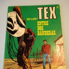 Cómics: TEX (1970, BURU LAN) 27 · 1971 · ENTRE DOS BANDERAS. Lote 247298595