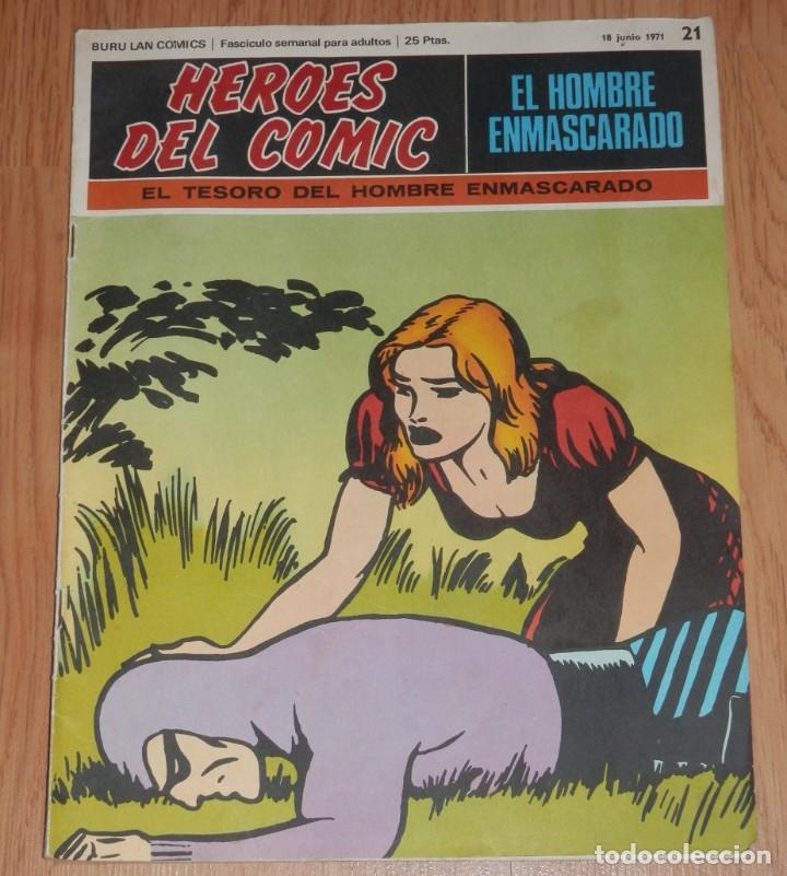 BURA LAN COMICS - EL HOMBRE ENMASCARADO Nº 21 (Tebeos y Comics - Buru-Lan - Hombre Enmascarado)
