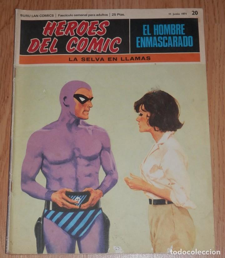 BURA LAN COMICS - EL HOMBRE ENMASCARADO Nº 20 (Tebeos y Comics - Buru-Lan - Hombre Enmascarado)