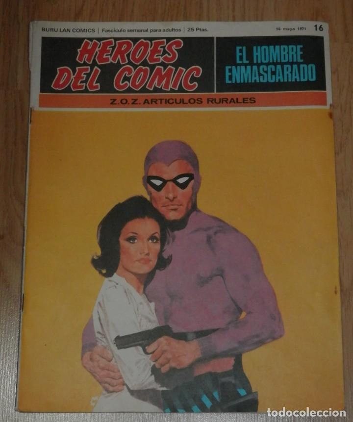 BURA LAN COMICS - EL HOMBRE ENMASCARADO Nº 16 (Tebeos y Comics - Buru-Lan - Hombre Enmascarado)