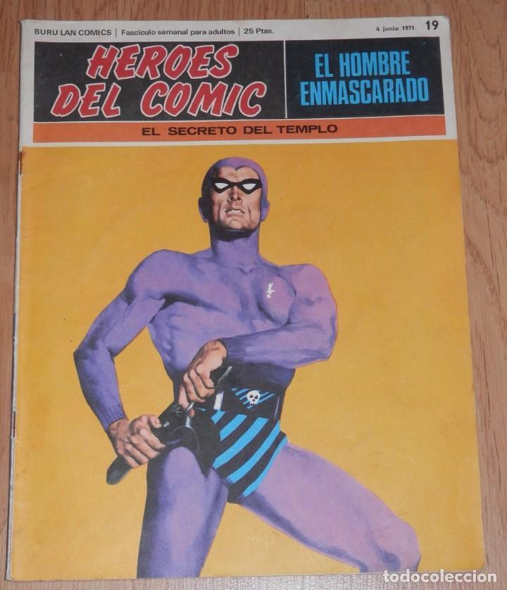 BURA LAN COMICS - EL HOMBRE ENMASCARADO Nº 19 (Tebeos y Comics - Buru-Lan - Hombre Enmascarado)
