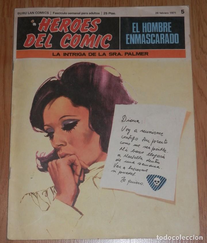 BURA LAN COMICS - EL HOMBRE ENMASCARADO Nº 5 (Tebeos y Comics - Buru-Lan - Hombre Enmascarado)