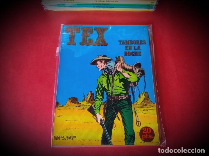 TEX Nº 4 -BURU LAN - EXCELENTE ESTADO - LEER DESCRIPICION - (Tebeos y Comics - Buru-Lan - Tex)