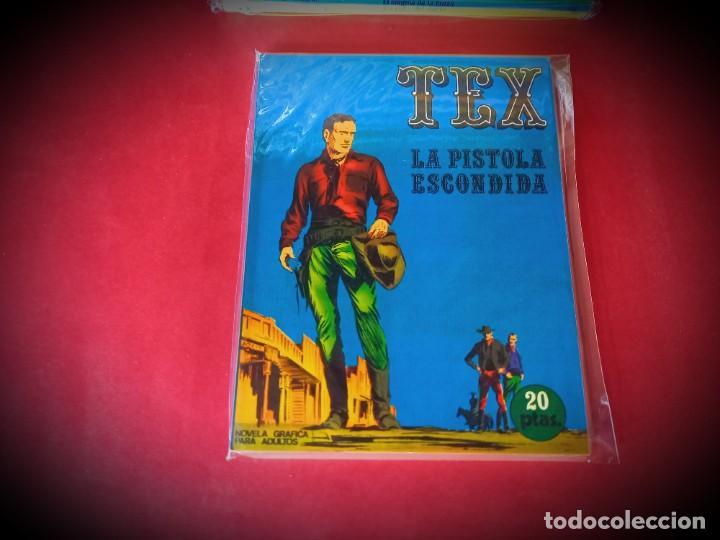 TEX Nº 7 -BURU LAN - EXCELENTE ESTADO - LEER DESCRIPICION - (Tebeos y Comics - Buru-Lan - Tex)